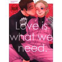 [Boys Love (Yaoi) : R18] Doujinshi - IRON-BLOODED ORPHANS / Norba Shino x Yamagi Gilmerton (Love is what we need. 愛し愛されて生きるのさ) / NICEGUY