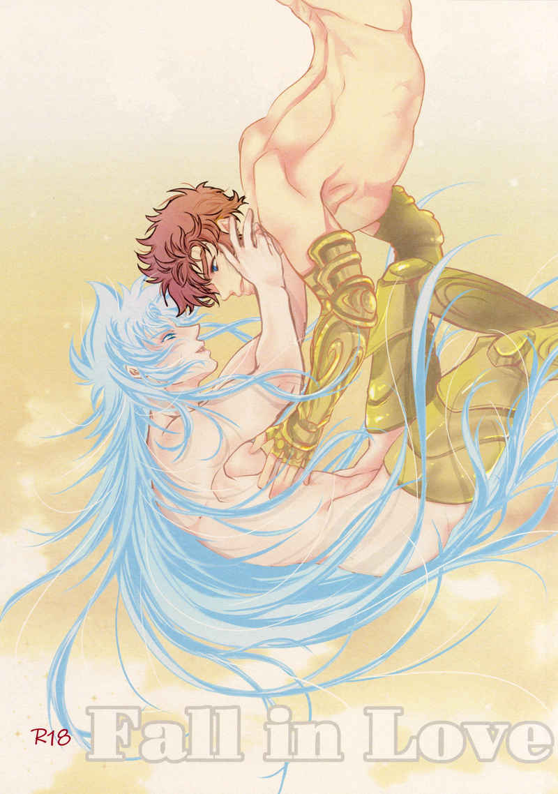 [Boys Love (Yaoi) : R18] Doujinshi - Saint Seiya / Aiolos x Saga (Fall in Love) / 門下まるばつ弁当