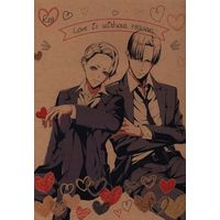[Boys Love (Yaoi) : R18] Doujinshi - Joker Game / Yuuki x Miyoshi (Love is Without reason) / ISTINTO
