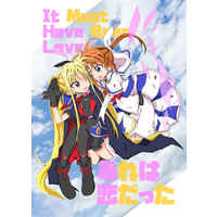 Doujinshi - Magical Girl Lyrical Nanoha / Nanoha x Fate (あれは恋だった) / ryu-min BS