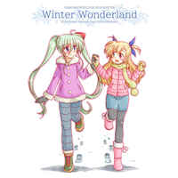 Doujinshi - Magical Girl Lyrical Nanoha / Vivio x Einhard Stratos (Winter Wonderland) / Hinatabokko Club