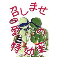 [Boys Love (Yaoi) : R18] Doujinshi - Mutant Ninja Turtles / Leonardo (召しませ愛の特効薬) / チームレ乙女