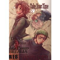 [Boys Love (Yaoi) : R18] Doujinshi - Hetalia / Germany x Italy (Take Your Time) / かにばりずむ
