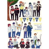 Doujinshi - Illustration book - Free! (Iwatobi Swim Club) / All Characters (Free!) (夏の思い出) / あもんちょ