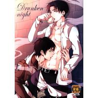 [Boys Love (Yaoi) : R18] Doujinshi - Shingeki no Kyojin / Eren x Levi (Drunken night) / ワヤ屋