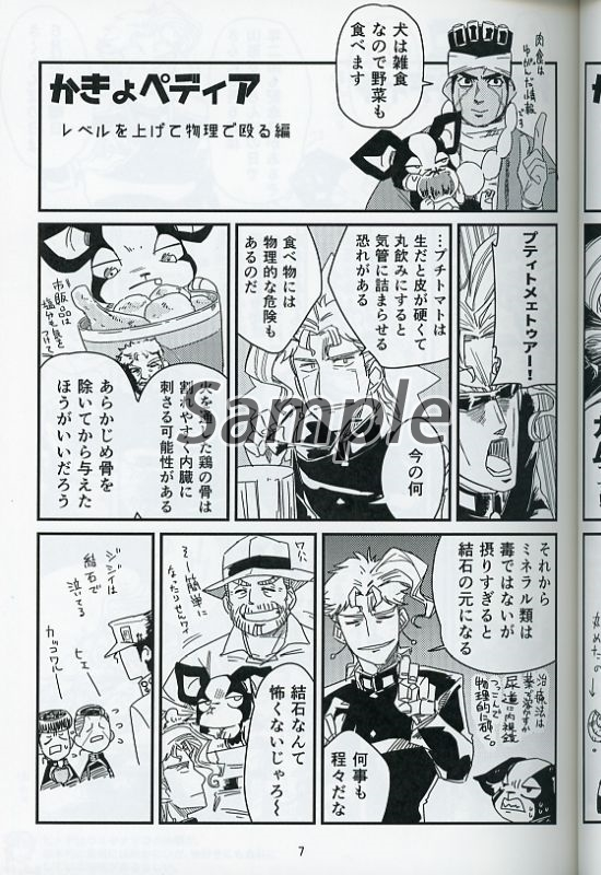 Doujinshi - Jojo Part 3: Stardust Crusaders / IGGY (Avenue アベニューB) / microwave