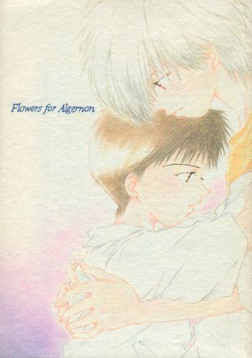 [Boys Love (Yaoi) : R18] Doujinshi - Evangelion / Kaworu x Shinji (Flower for Algernon アルジャーノンに花束を) / ばにーず事務所