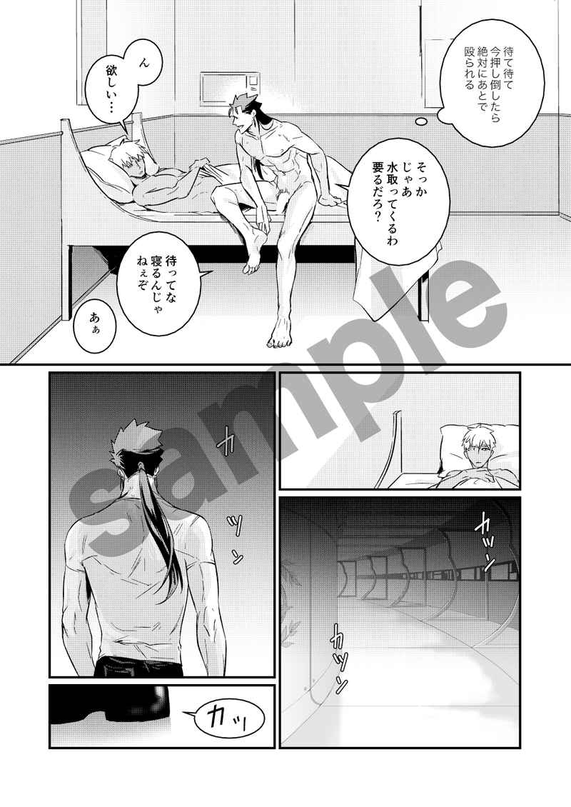 [Boys Love (Yaoi) : R18] Doujinshi - Fate/Grand Order / Lancer (Fate/stay night) x Archer (Fate/stay night) (more than more) / Null