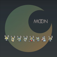 Doujinshi - Illustration book - moon / ベジタブルグ家