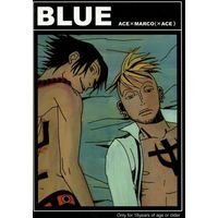 [Boys Love (Yaoi) : R18] Doujinshi - ONE PIECE / Ace x Marco (BLUE) / Groucho03