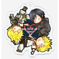 Key Chain - KINGDOM HEARTS / Sora & Roxas & Xion