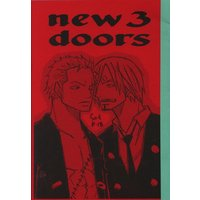 [Boys Love (Yaoi) : R18] Doujinshi - ONE PIECE / Sanji x Zoro (NEW3doors *コピー) / ハチ丸/環八レゴ