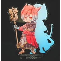 Acrylic stand - Shadowbringers / Warriors of Light & Miqo'te & G'raha Tia (Crystal Exarch)