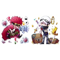 Acrylic stand - ONE PIECE / Luffy & Law & Kid