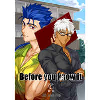 [Boys Love (Yaoi) : R18] Doujinshi - Novel - Fate Series / Lancer (Fate/stay night) x Archer (Fate/stay night) (Before you know it) / rom