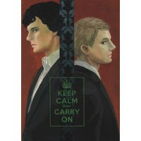 Doujinshi - Sherlock (TV series) (KEEP CALM AND CARRY ON) / Chesklor