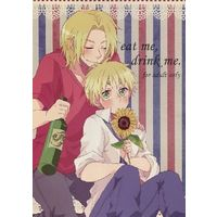 [Boys Love (Yaoi) : R18] Doujinshi - Hetalia / France x United Kingdom (eat me,drink me.) / 'S