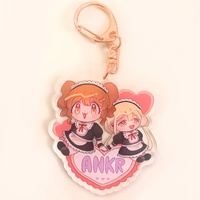 Key Chain - IM@S: Cinderella Girls / Kirari & Anzu