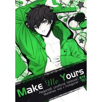 [Boys Love (Yaoi) : R18] Doujinshi - Persona5 / Iwai Munehisa x Protagonist (Persona 5) (Make Me Yours ☆ペルソナ5) / obsidian