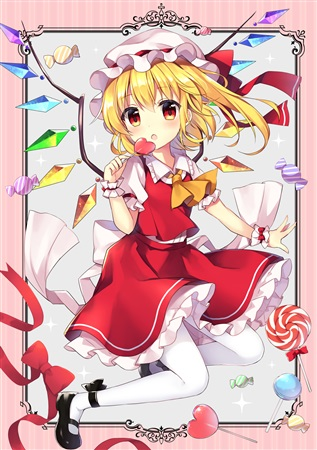 Doujinshi - Illustration book - Touhou Project / Flandre & Sakuya & Remilia (Dolce) / コウセイ