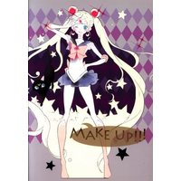 Doujinshi - Illustration book - Sailor Moon / All Characters (MAKE UP!!! *イラスト集/折本) / metamor planet