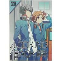[Boys Love (Yaoi) : R18] Doujinshi - Persona4 / Yu x Yosuke (LOOKING BACK *再録) / Bug
