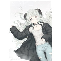 Doujinshi - Illustration book - SMOKY WHITE / たにからきぬまで
