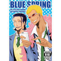[Boys Love (Yaoi) : R18] Doujinshi - ONE PIECE / Doflamingo x Crocodile (BLUE SPRING) / Mochiya