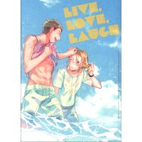 Doujinshi - IRON-BLOODED ORPHANS / Norba Shino x Yamagi Gilmerton (LIVE. LOVE. LAUGH) / ricca