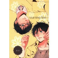 [Boys Love (Yaoi) : R18] Doujinshi - Blue Exorcist / Yukio x Rin (starting line) / カワセミセワカ