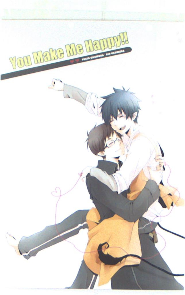 Doujinshi - Blue Exorcist / Yukio x Rin (You Make Me Happy!!) / ハルヒヨリ+