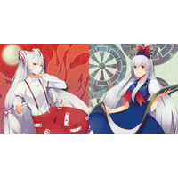 Cushion Cover - Touhou Project / Keine & Mokou