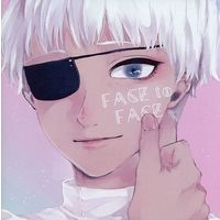 Doujinshi - Illustration book - Tokyo Ghoul / All Characters (FACE to FACE) / オガタ