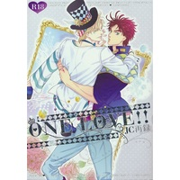 [Boys Love (Yaoi) : R18] Doujinshi - Jojo Part 2: Battle Tendency / Joseph x Caesar (ONE LOVE!! -JC再録-【池袋本店出品】) / nir