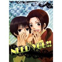 Doujinshi - Hetalia / Japan x China (NEED YOU!!) / Fuusenka