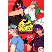 [Boys Love (Yaoi) : R18] Doujinshi - Omnibus - Jojo Part 2: Battle Tendency / Joseph x Caesar (midnight Red *再録集) / Mayonaka
