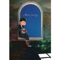 Doujinshi - Illustration book - Osomatsu-san / Karamatsu (Azure journey) / ωちゃれんじ。