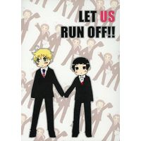 Doujinshi - Hetalia / United Kingdom x Japan (LET US RUN OFF!!) / MHP