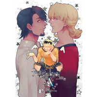 Doujinshi - TIGER & BUNNY / Barnaby & Kotetsu (「Just walk beside me and be my,」 ☆TIGER & BUNNY) / Saika