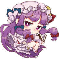 Trading Strap - Touhou Project / Patchouli Knowledge