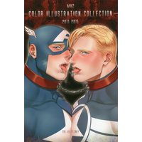 [Boys Love (Yaoi) : R18] Doujinshi - Illustration book - Captain America (CLOR ILLUSTRATION COLLECTION *イラスト集※イタミ有) / MA2