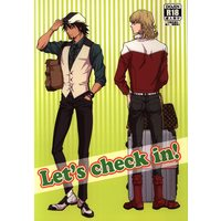 [Boys Love (Yaoi) : R18] Doujinshi - TIGER & BUNNY / Kotetsu x Barnaby (Lets check in!) / Nikushoku Shounen