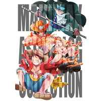 Doujinshi - ONE PIECE / Luffy & Ace & Sabo (MAKIMAX ASL WEB LOG COLLECTION) / MAKIMAX