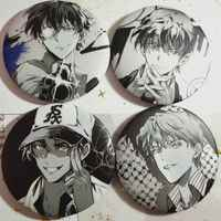 Badge - All genres (Yorozu) / Hattori Heiji & Phantom Thief Kid & Kudou Shinichi