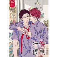 [Boys Love (Yaoi) : R18] Doujinshi - Novel - Haikyuu!! / Oikawa x Iwaizumi (権利行使) / 及岩文芸部