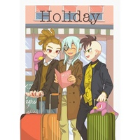 Doujinshi - Illustration book - Inazuma Eleven Series / All Characters (Inazuma Eleven) (Holiday) / 柚缶詰