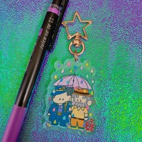 Key Chain - Jojo Part 3: Stardust Crusaders / Jyoutarou & Joseph
