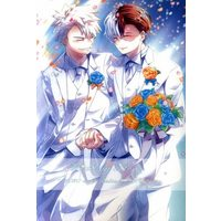 Doujinshi - Anthology - My Hero Academia / Bakugou Katsuki x Todoroki Shouto (僕のヒーローアカデミア爆豪勝己×轟焦凍アンソロジー Wedding Story) / GASA