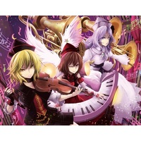 Tapestry - Touhou Project / Prismriver Sisters & Lunasa Prismriver & Lyrica Prismriver & Merlin Prismriver