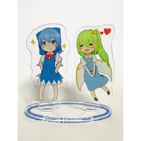 Acrylic stand - Postcard - Touhou Project / Cirno & Daiyousei